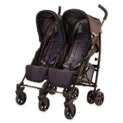guzzie+Guss Twice Stroller in Black