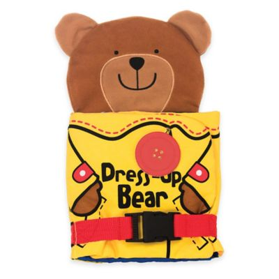 Melissa & Doug® Dress Up Bear Soft Book