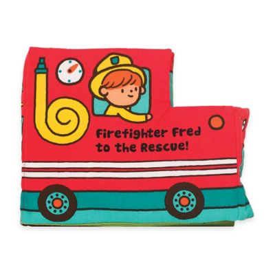 Melissa & Doug® Firefighter Fred to the Rescue Soft Activity Book