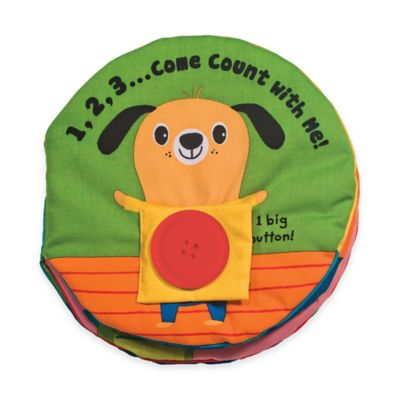 Melissa & Doug® 1,2,3...Come Count with Me! Soft Book
