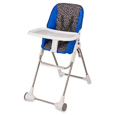 Evenflo® Symmetry™ Hayden Dot High Chair in Blue/Black