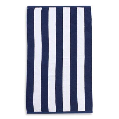 Blue Stripe Pool Towel
