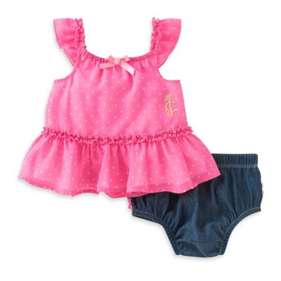 Juicy Couture Dress and Diaper Cover Set