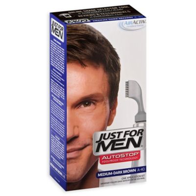 Just for Men® Auto Stop Hair Color in Medium Dark Brown