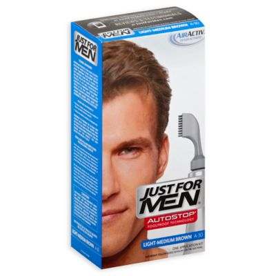 Just for Men® Auto Stop Hair Color in Light Medium Brown
