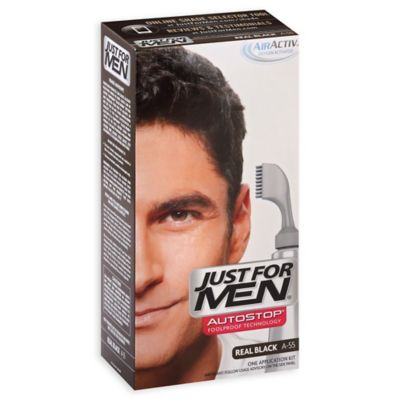 Just for Men® Auto Stop Haircolor in Real Black
