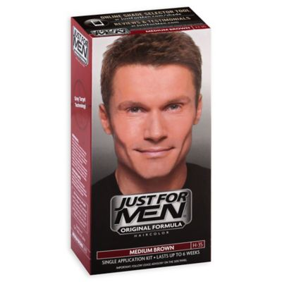 Just For Men® Shampoo Hair Color in Medium Brown H-35