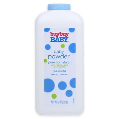 buybuy Baby™ 22 oz. Baby Powder Pure Cornstarch with Aloe Vera and Vitamin E