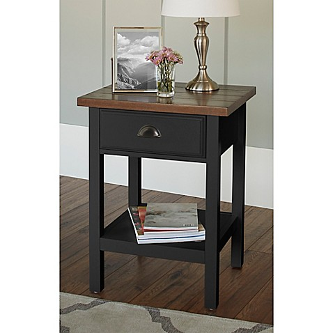 Chatham House Newport Accent Table With Drawer Www