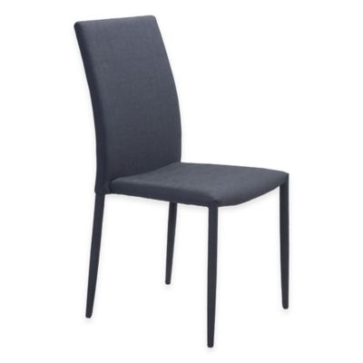 Zuo® Confidence Dining Chair in Black (Set of 2)
