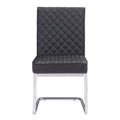 Zuo® Quilt Dining Chair in White