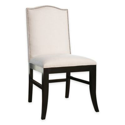 Abbyson Living® Leather Royal Dining Chair in Gray