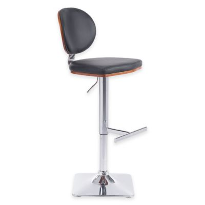 Zuo® Lion Bar Chair in White