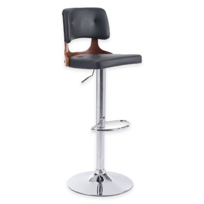 Zuo® Lynx Bar Chair in Black