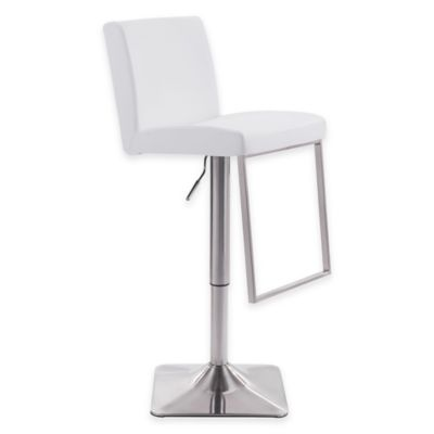 Zuo® Puma Bar Chair in White