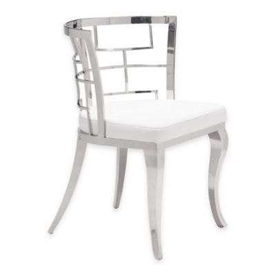 Zuo® Quince Dining Chairs in White (Set of 2)