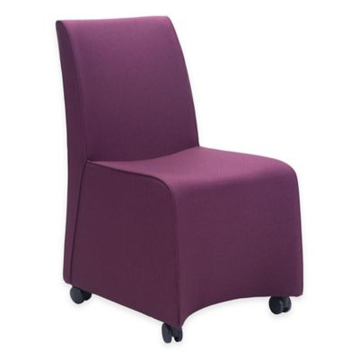 Zuo® Whittle Dining Chair in Purple (Set of 2)
