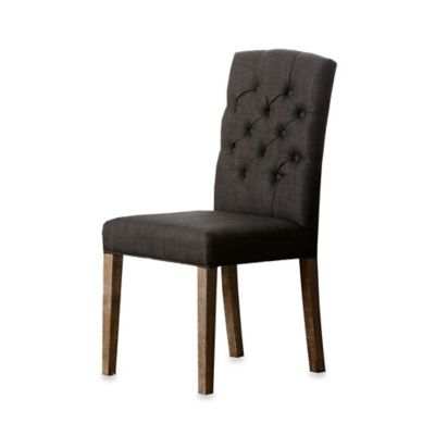 Abbyson Living® Princeton Tufted Dining Chair in Grey