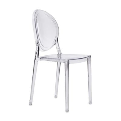 Zuo® Specter Clear Dining Chair (Set of 2)
