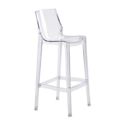 Zuo® Phantom Clear Bar Chair (Set of 2)
