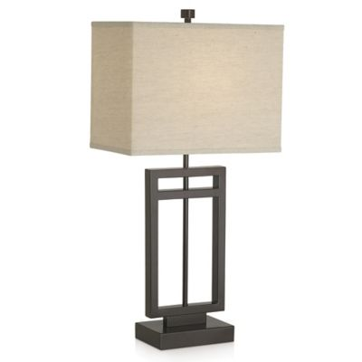 Pacific Coast® Lighting Central Loft Collection Table Lamp in Bronze