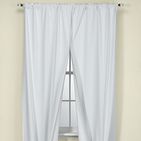 white blackout 60 l liner these rod pocket unlined liners. Black Bedroom Furniture Sets. Home Design Ideas