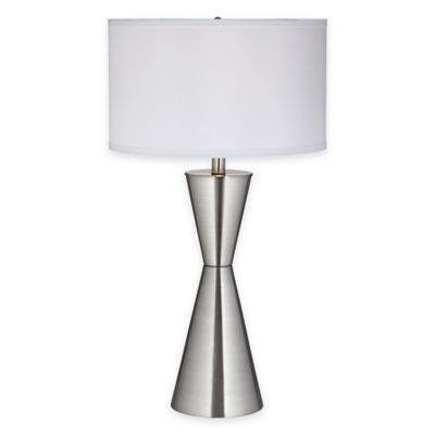 Pacific Coast® Lighting Troubadour Table Lamp with Linen Shade