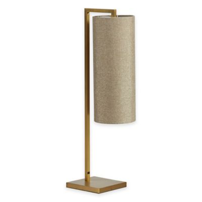 INK+IVY Fio Gold Table Lamp