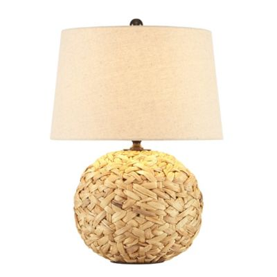 INK+IVY Grove Seagrass Table Lamp