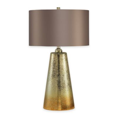 Gold Silver Table Lamp