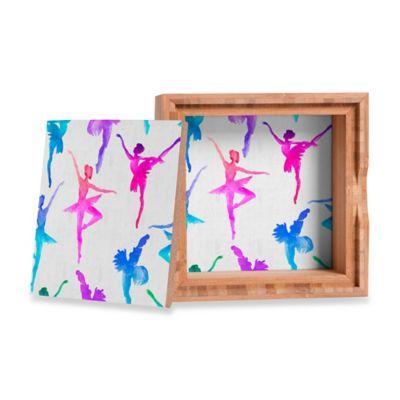 DENY Designs Dash & Ash Ballerina Small Jewelry Box