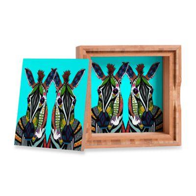 DENY Designs Sharon Turner Zebra Love Small Jewelry Box