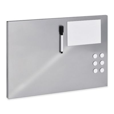 STEELMASTER® Soho Collection™ 18.5-Inch x 11.5-Inch Flat Magnetic Board in Silver