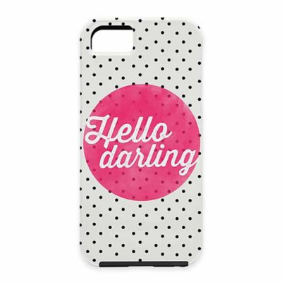 "DENY Designs Allyson Johnson ""Hello Darling"" Polka Dot Case for iPhone® 5 and 5S"