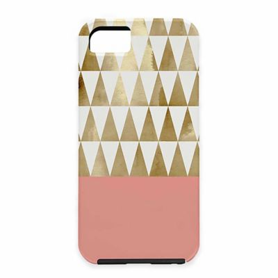 DENY Designs Georgiana Paraschiv Gold Triangles Geographic Case for iPhone® 6 and 6S
