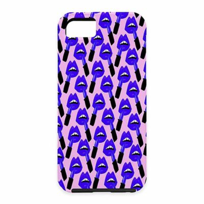 DENY Designs Bouffants and Broken Hearts Never Enough Lipstick Graphic Case for Samsung Galaxy S5