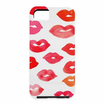 DENY Designs Rebecca Allen Le Baiser Lip Case for Samsung Galaxy S5