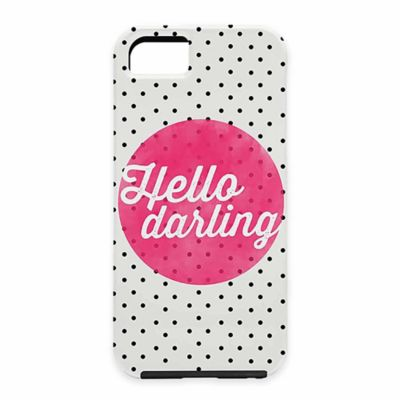 "DENY Designs Allyson Johnson ""Hello Darling"" Polka Dot Case for Samsung Galaxy S5"