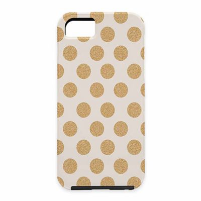 Allyson Johnson Gold Polka Dot Case