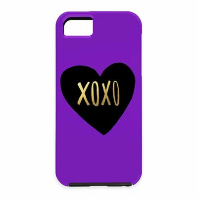"DENY Designs Leah Flores I Love You Like ""XO"" Case for Samsung Galaxy S5"