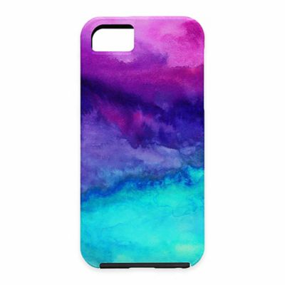 DENY Designs Jacqueline Maldonado The Sound Watercolor Case for Samsung Galaxy S5