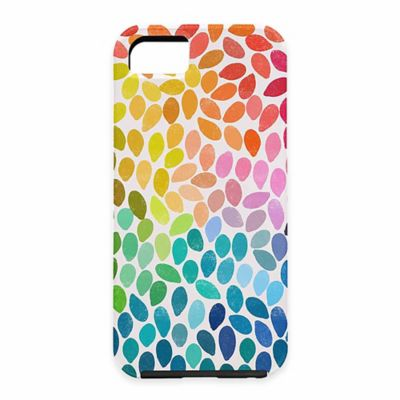 DENY Designs Garima Dhawan Rain 11 Polka Dot Case for Samsung Galaxy S5
