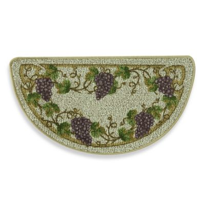 Bacova Grapevine 18-Inch x 35.5-Inch Kitchen Rug