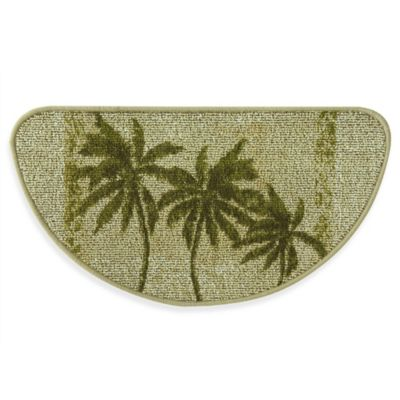 Palm Tree Kitchen Rug