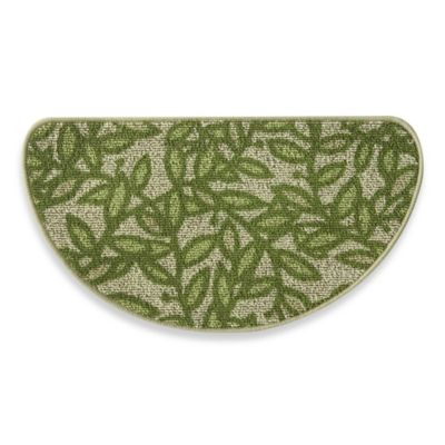 Bacova Leaf Sonata 18-Inch x 31.5-Inch Berber Kitchen Rug