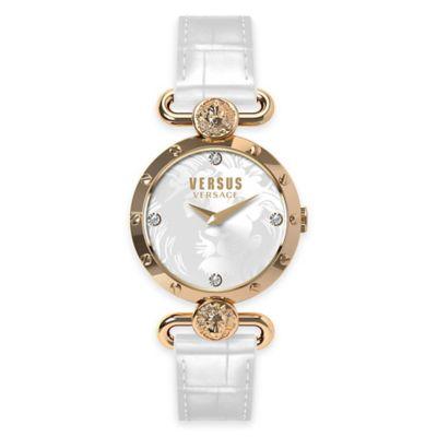 Versus by Versace Ladies' 34mm Sunnyridge Watch in Rose Stainless Steel w/ White Dial