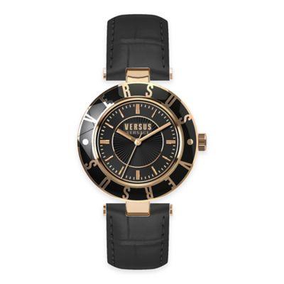 Gold Logo Watch