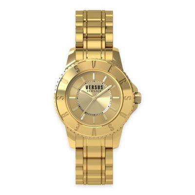 Versus by Versace Ladies' 26mm Tokyo Watch in Goldtone Stainless Steel w/ Goldtone Dial