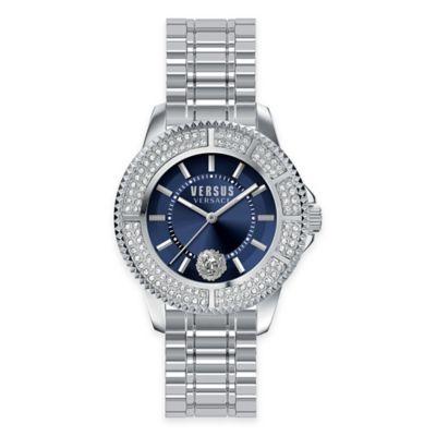 Versus by Versace Ladies' 38mm Tokyo Crystal Watch in Stainless Steel