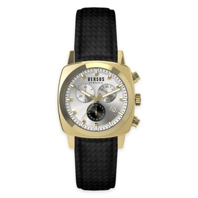 Versus by Versace Men's 40mm Chronograph Riverdale Watch in Goldtone Stainless Steel